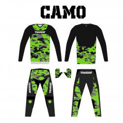 Ensemble BMX CAMO