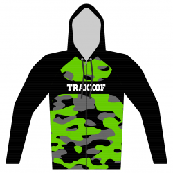 Sweat capuche Design CAMO